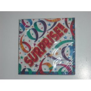 Tableware Party Streamers Surprise Lunch Napkins
