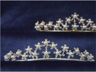 Bride Tiara Style & Grace Silver P