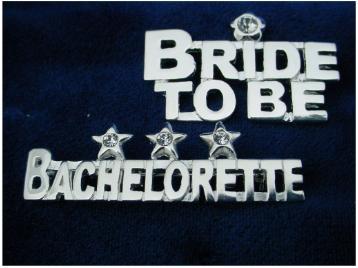 Bridal Party Pin Bride To Be