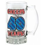 40 Cheers to 40 Tankard