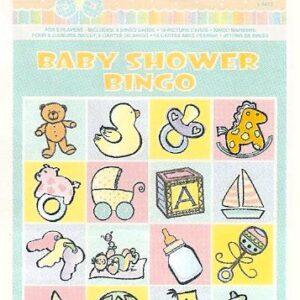Baby Shower Game Bingo