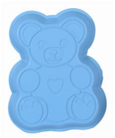 Favor Bear Plastic Tray