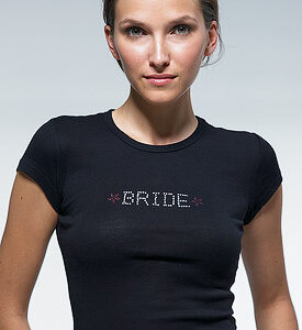 A Bride Iron On Transfer