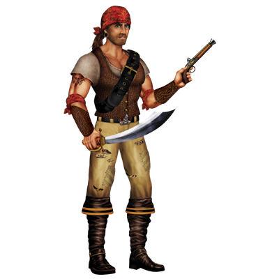 Cutout Pirate