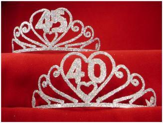 A Sparkling 40 Tiara Shimmer