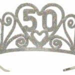 A Sparkling 50 Tiara