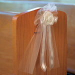 Decor Bows with Tulle & Ribbon