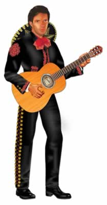 Mexican Spanish Mariachi Cutout