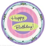 Tableware Forever Young  HBD Plates