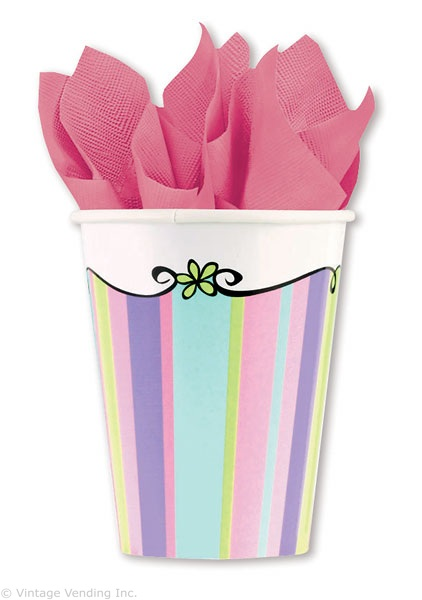 Tableware Forever Young  HBD Cups