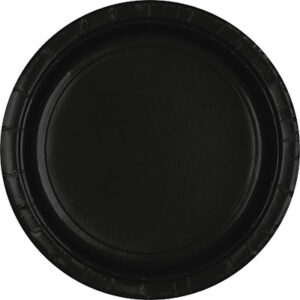 Tableware Black Paper Plates 24ct