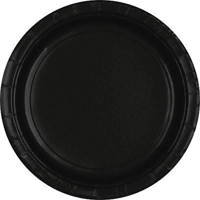 Tableware Black Paper Plates 24ct
