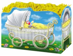 Baby Shower Centerpiece Carriage Small Box
