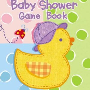 Baby Shower Game Book Hugs & Stiches