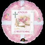 Balloon Christening Pink