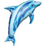 Luau Balloon Dolphin