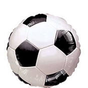 Soccer Ball Balloon 18in