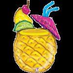 Luau Balloon Singing Pineapple Drink