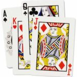 Casino Cards Cutouts 4ct