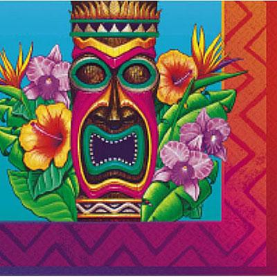 Luau A Tiki Island Lunch Napkins