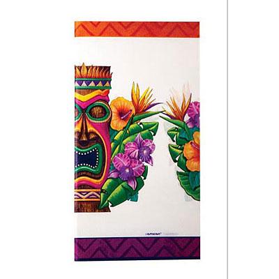 Luau A Tiki Island Table Cover