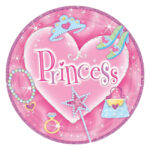 Princess Prismatic Lunch Plates