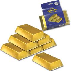 Western Gold Bar Decor Box