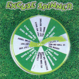 Golf  Excuse Spinner