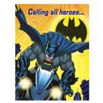 Batman  Invitations 8ct