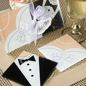 Coaster Bride & Groom 2ct