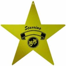 Award Night Foil Star