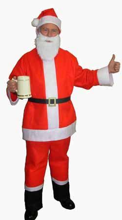 Santa Suit Salloon Spree