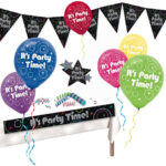 Decor Kit Its Party Time
