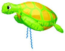 Under Sea Balloon Turtle 3d