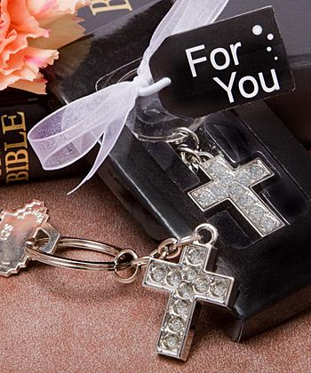 A Cross Keychain Gift/Stocking Stuffer