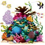 Under Sea Coral Reef Prop