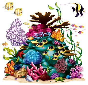 Under Sea Coral Reef Prop