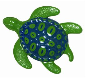 Under The Sea Plastic Turtle