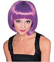 Wig Purple