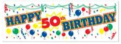 Personalizable Birthday Banner