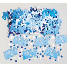 Baby Shower Confetti Its A Boy