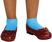 Dorothy Wizard of Oz sparkly Kid Shoes
