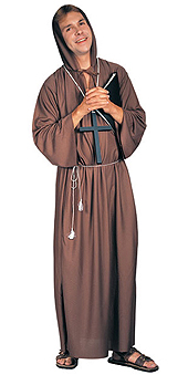 Priest Brown Robe