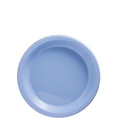 Blue Plastic Dessert Plates
