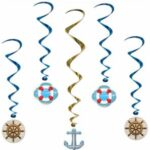 Nautical Decor Swirls 5ct