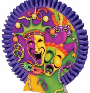Decor Centerpiece Mardi Gras