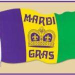 Decor  Mardi Gras  Cutout