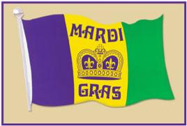 Decor  Mardi Gras  Cutout