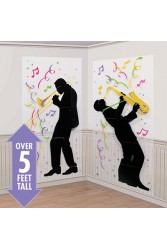 Decor  Prop Jazz Musician 2ct