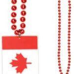 Canada Flag Beads